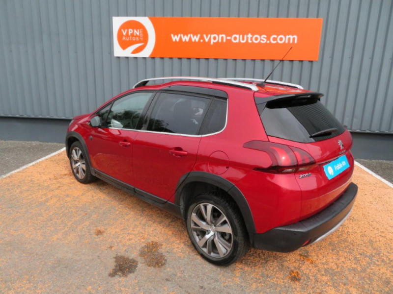Peugeot 2008 1.5 BlueHDi S&S - 120 - BV EAT6  Crossway PHASE 2 Rouge occasion à Labège - photo n°4