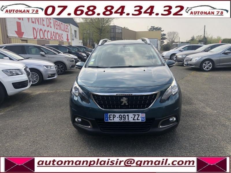 Peugeot 2008 1.6 BLUEHDI 100CH ACTIVE BUSINESS S&S ETG6 Bleu occasion à Thiverval-Grignon - photo n°2