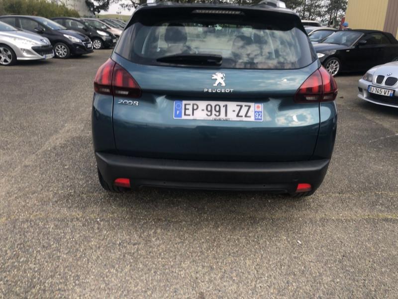 Peugeot 2008 1.6 BLUEHDI 100CH ACTIVE BUSINESS S&S ETG6 Bleu occasion à Thiverval-Grignon - photo n°5
