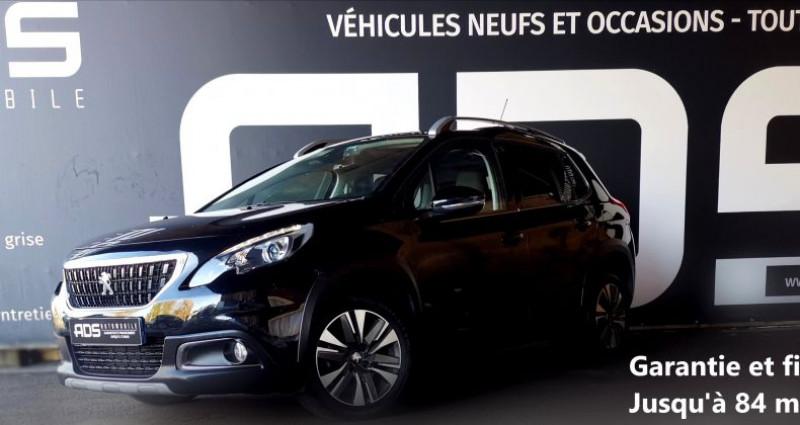 Peugeot 2008 1.6 BlueHDi 100ch Allure Business S&S Noir occasion à Diebling - photo n°2