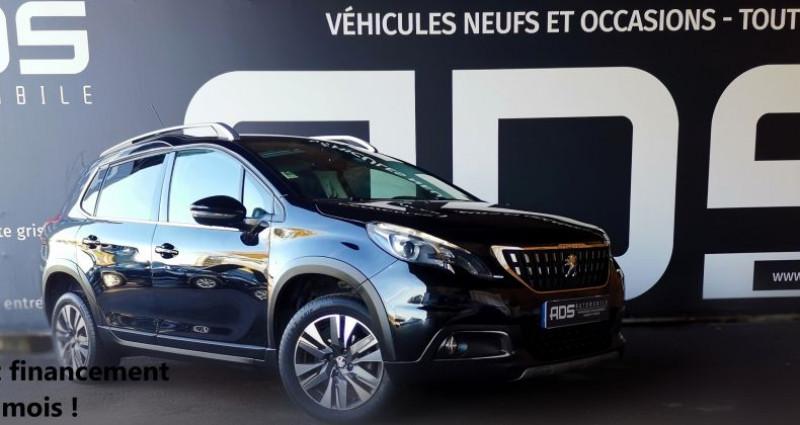 Peugeot 2008 1.6 BlueHDi 100ch Allure Business S&S Noir occasion à Diebling
