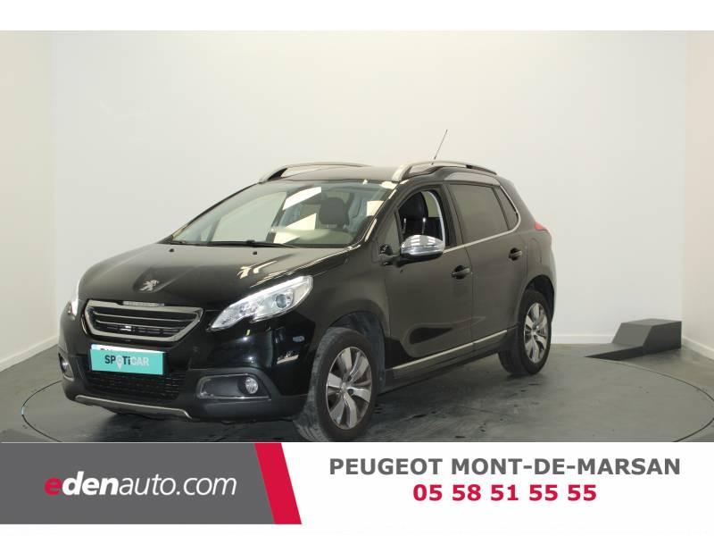 Peugeot 2008 1.6 BlueHDi 100ch S&S BVM5 Business Pack Noir occasion à Saint Pierre du Mont