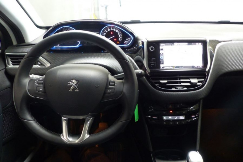 Peugeot 2008 1.6 BLUEHDI 120CH ALLURE BUSINESS S&S Blanc occasion à Challans - photo n°2