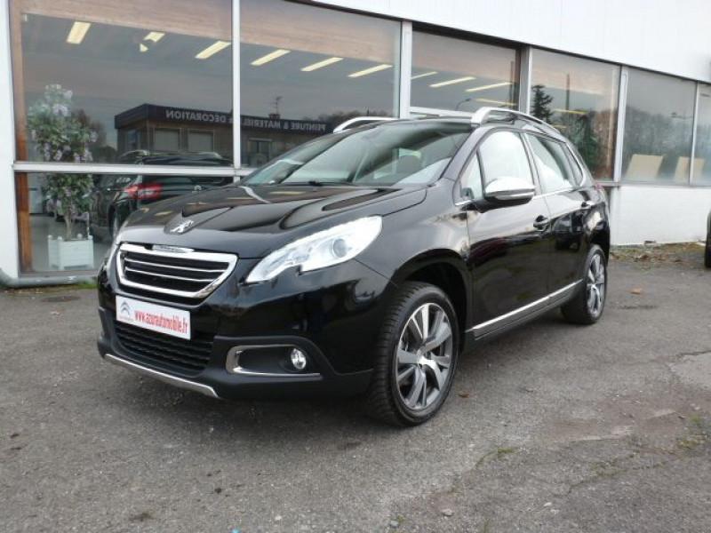 Peugeot 2008 1.6 BLUEHDI 120CH ALLURE S&S Noir occasion à TOULOUSE