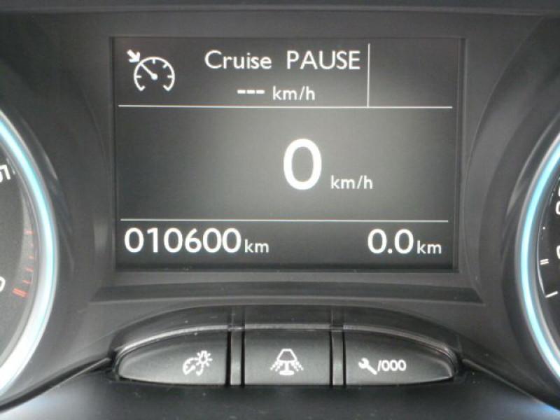Peugeot 2008 1.6 BLUEHDI 120CH ALLURE S&S Noir occasion à TOULOUSE - photo n°8
