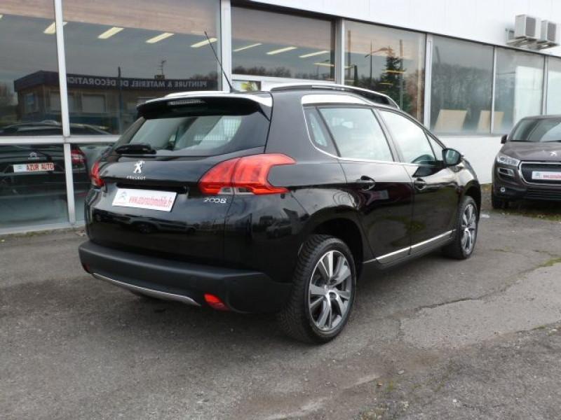 Peugeot 2008 1.6 BLUEHDI 120CH ALLURE S&S Noir occasion à TOULOUSE - photo n°3