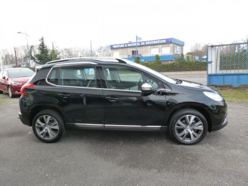 Peugeot 2008 1.6 BLUEHDI 120CH ALLURE S&S Noir occasion à TOULOUSE - photo n°4