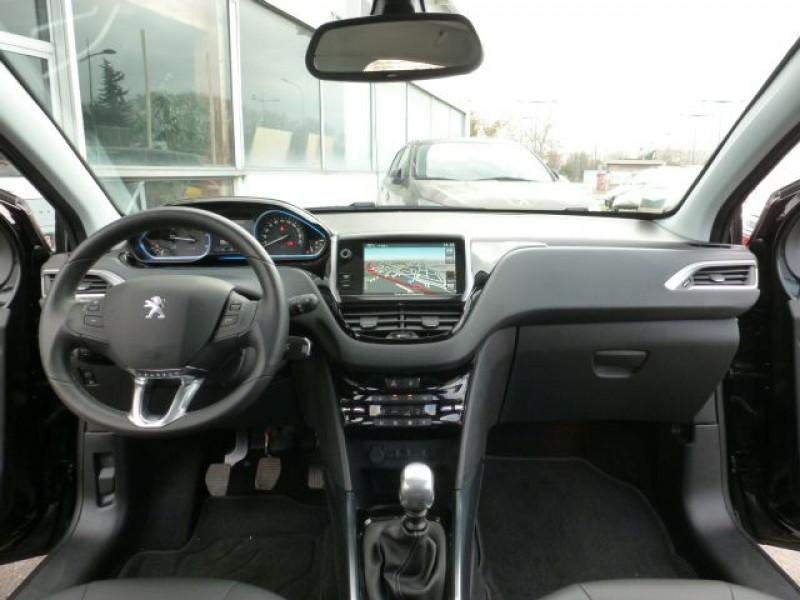 Peugeot 2008 1.6 E-HDI115 FAP ALLURE Noir occasion à TOULOUSE - photo n°7