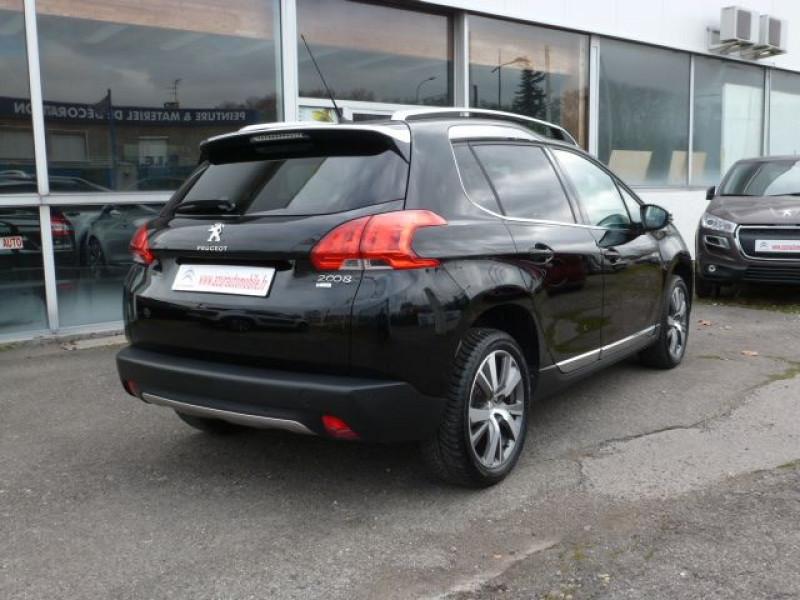 Peugeot 2008 1.6 E-HDI115 FAP ALLURE Noir occasion à TOULOUSE - photo n°3