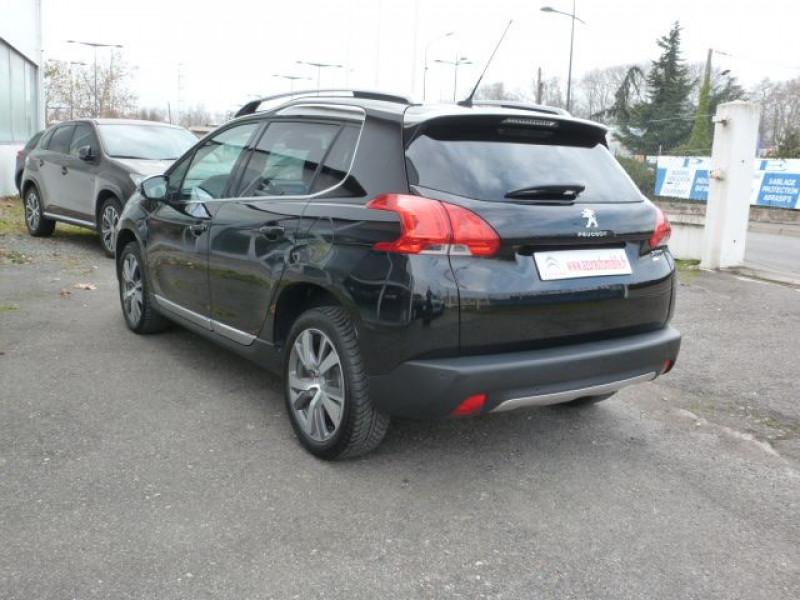 Peugeot 2008 1.6 E-HDI115 FAP ALLURE Noir occasion à TOULOUSE - photo n°12