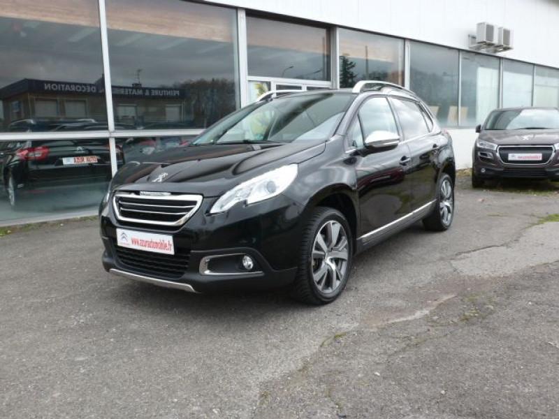 Peugeot 2008 1.6 E-HDI115 FAP ALLURE Noir occasion à TOULOUSE