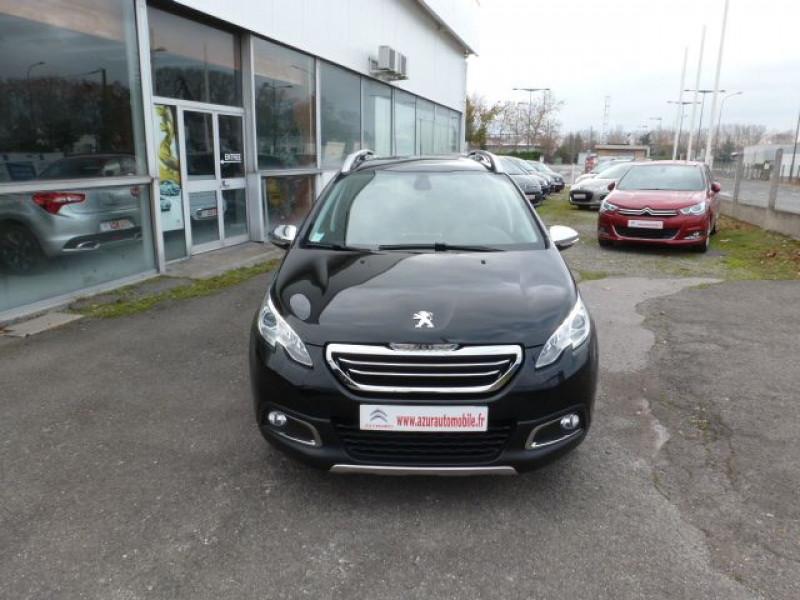 Peugeot 2008 1.6 E-HDI115 FAP ALLURE Noir occasion à TOULOUSE - photo n°11