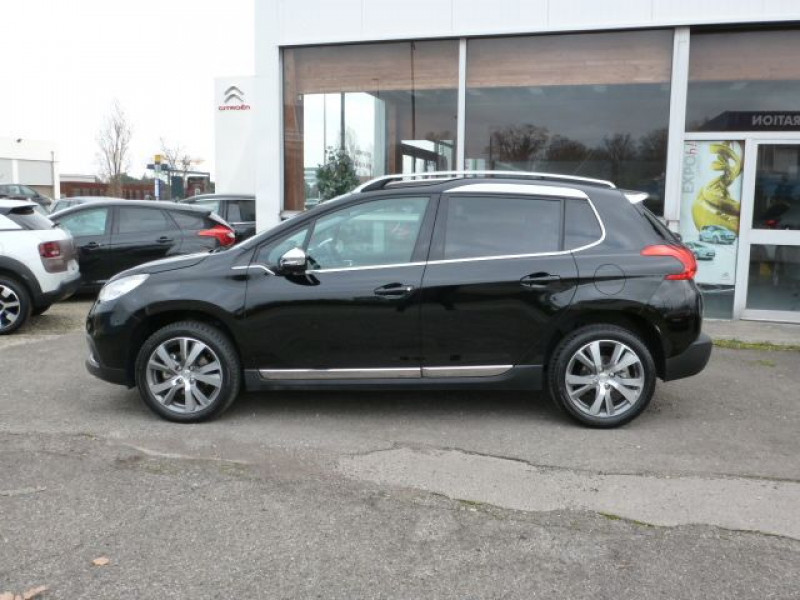 Peugeot 2008 1.6 E-HDI115 FAP ALLURE Noir occasion à TOULOUSE - photo n°2