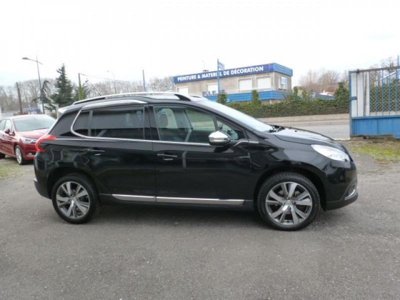 Peugeot 2008 1.6 E-HDI115 FAP ALLURE Noir occasion à TOULOUSE - photo n°4