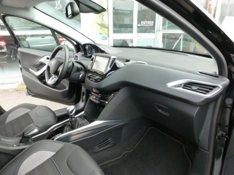 Peugeot 2008 1.6 E-HDI115 FAP ALLURE Noir occasion à TOULOUSE - photo n°6