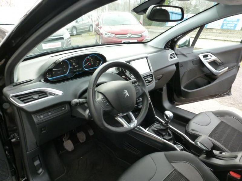 Peugeot 2008 1.6 E-HDI115 FAP ALLURE Noir occasion à TOULOUSE - photo n°14