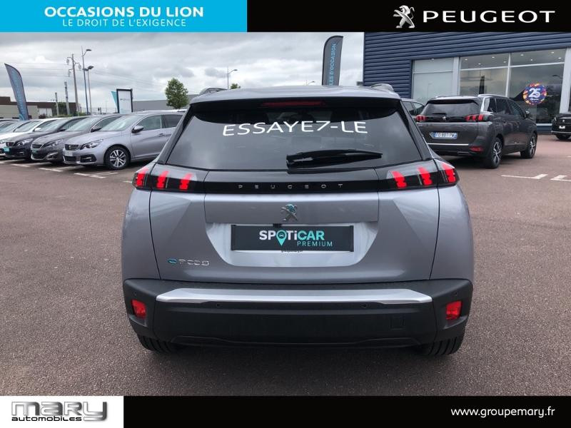 Peugeot 2008 e-2008 136ch Allure Pack Gris occasion à Vire - photo n°4