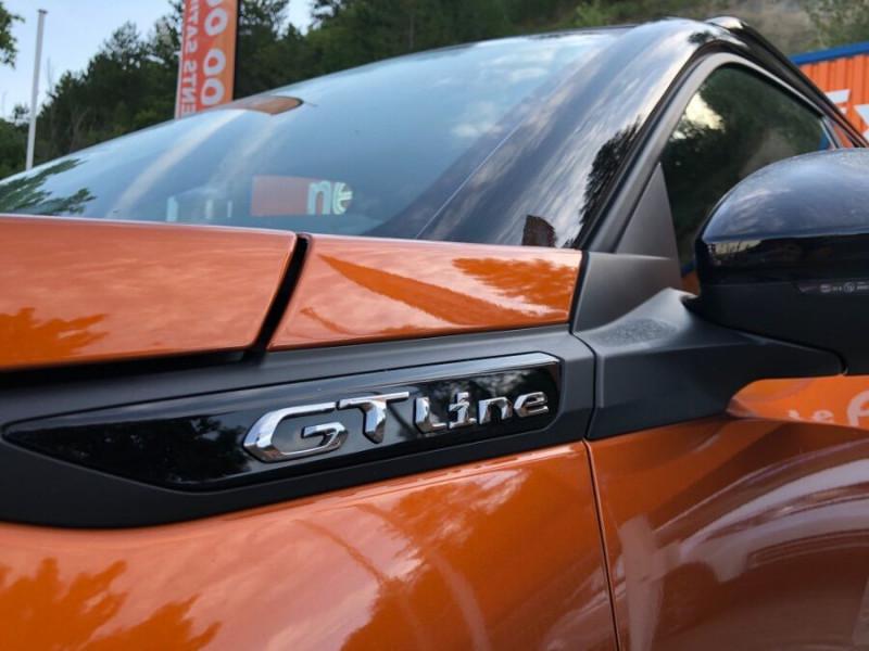 Peugeot 2008 New BlueHDi 100 BV6 GT Line GPS 10 Caméra ADML Orange occasion à Montauban - photo n°10