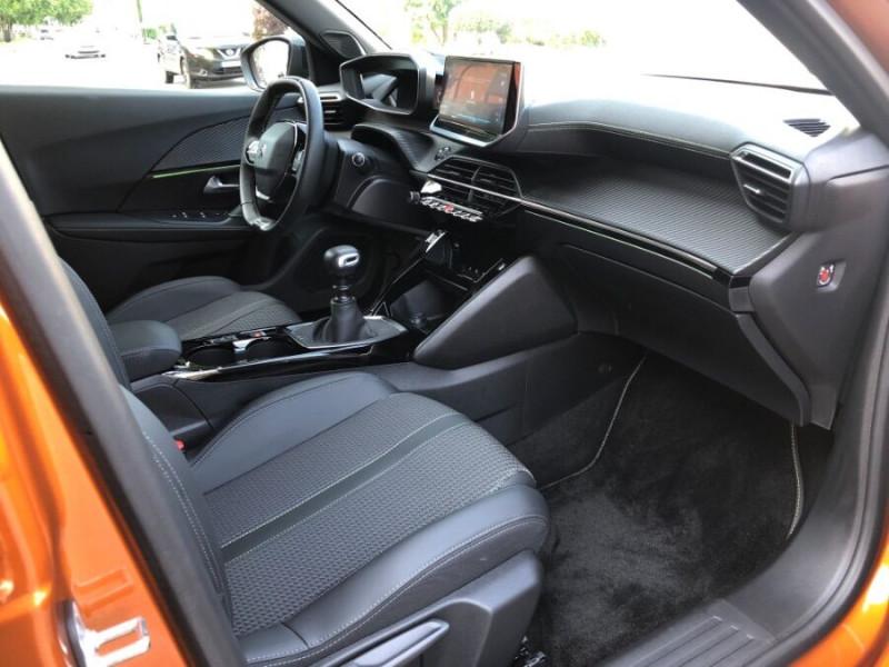 Peugeot 2008 New BlueHDi 100 BV6 GT Line GPS 10 Caméra ADML Orange occasion à Montauban - photo n°19
