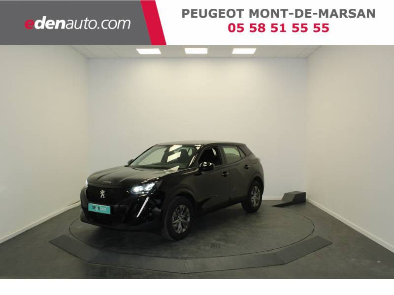 Peugeot 2008 PureTech 130 S&S BVM6 Active Noir occasion à Saint Pierre du Mont