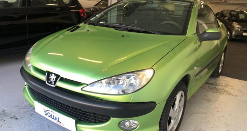 Peugeot 206 CC 1.6 16v Vert occasion à ROUEN
