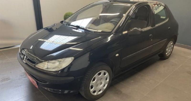 Peugeot 206 1.4 ESS 75 CV 136 000 KMS Noir occasion à COURNON D'AUVERGNE - photo n°2