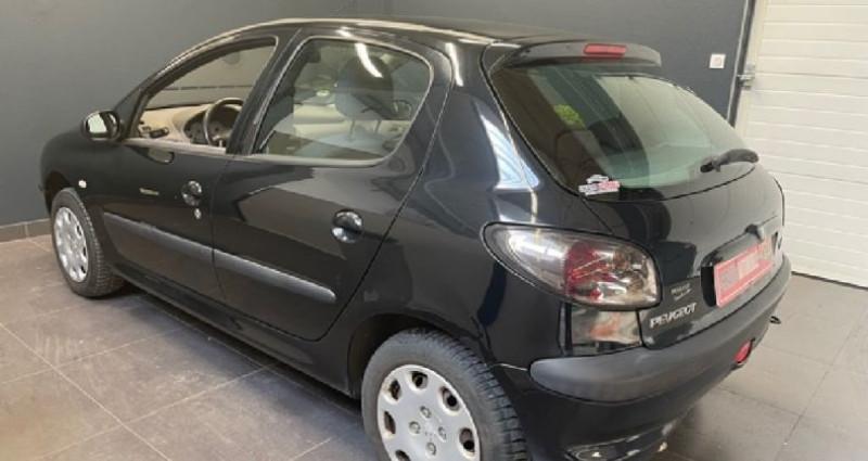 Peugeot 206 1.4 ESS 75 CV 136 000 KMS Noir occasion à COURNON D'AUVERGNE - photo n°6