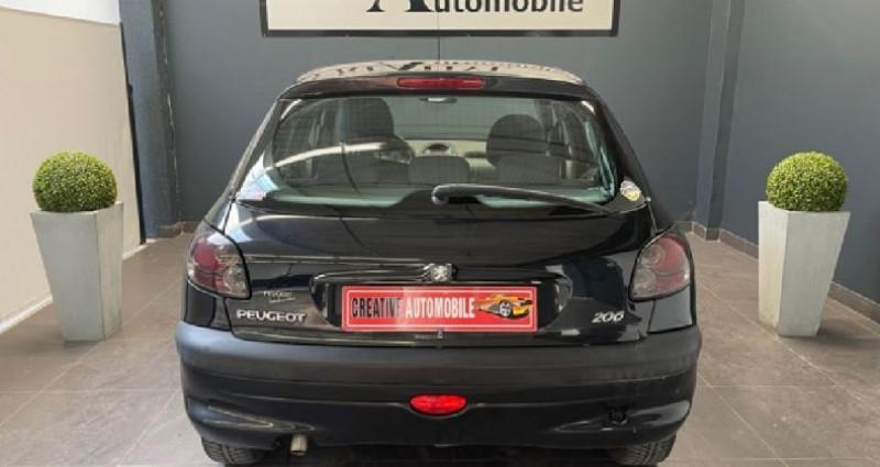 Peugeot 206 1.4 ESS 75 CV 136 000 KMS Noir occasion à COURNON D'AUVERGNE - photo n°4
