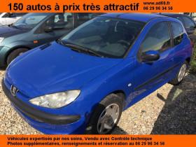 Peugeot 206 Bleu, garage VOITURE PAS CHERE RHONE ALPES à Saint-Bonnet-de-Mure
