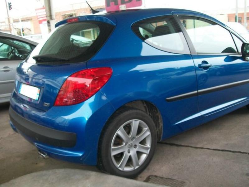 Peugeot 207 3 portes 1.6 HDi 110 Sport Bleu occasion à Toulouse - photo n°4