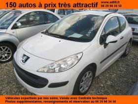 Peugeot 207 Blanc, garage VOITURE PAS CHERE RHONE ALPES à Saint-Bonnet-de-Mure