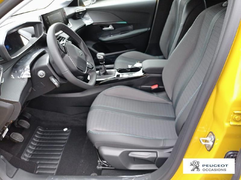 Peugeot 208 1.2 PureTech 100ch S&S Allure Pack Jaune occasion à Albi - photo n°9