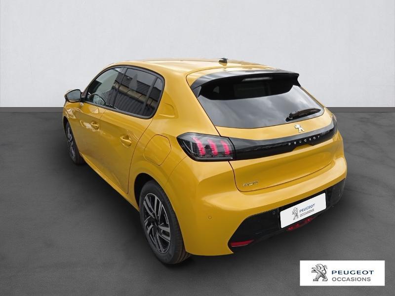 Peugeot 208 1.2 PureTech 100ch S&S Allure Pack Jaune occasion à Albi - photo n°3