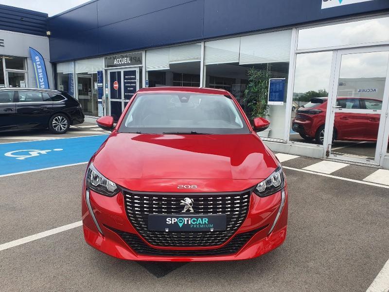 Peugeot 208 1.2 PureTech 100ch S&S Allure Rouge occasion à Pencran - photo n°2