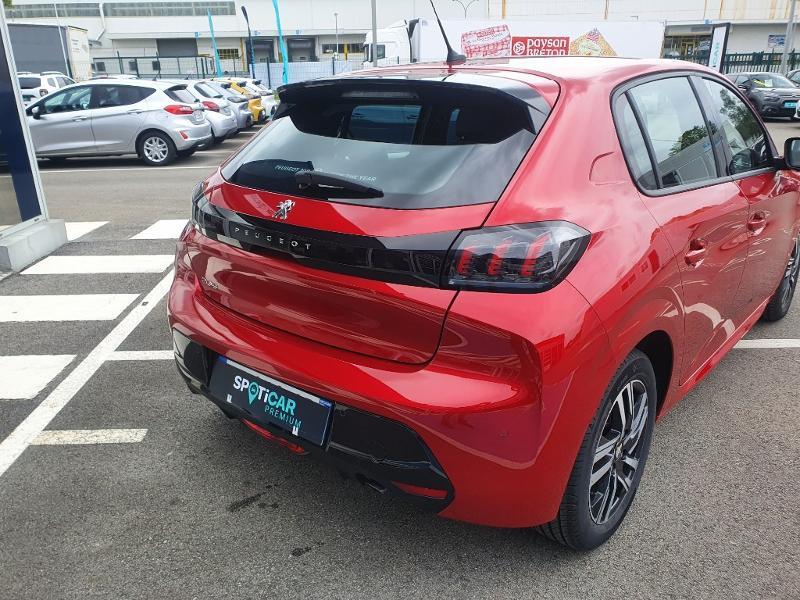 Peugeot 208 1.2 PureTech 100ch S&S Allure Rouge occasion à Pencran - photo n°7