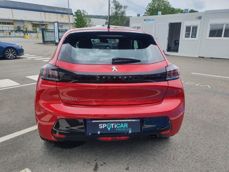 Peugeot 208 1.2 PureTech 100ch S&S Allure Rouge occasion à Pencran - photo n°5