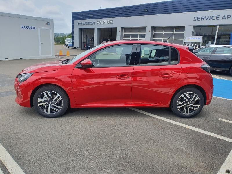 Peugeot 208 1.2 PureTech 100ch S&S Allure Rouge occasion à Pencran - photo n°4