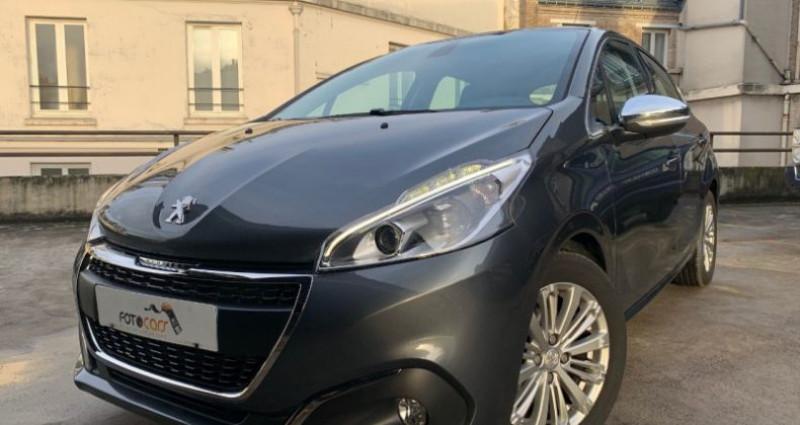 Peugeot 208 1.2 PURETECH 110CH ALLURE S&S EAT6 5P Gris occasion à REZE