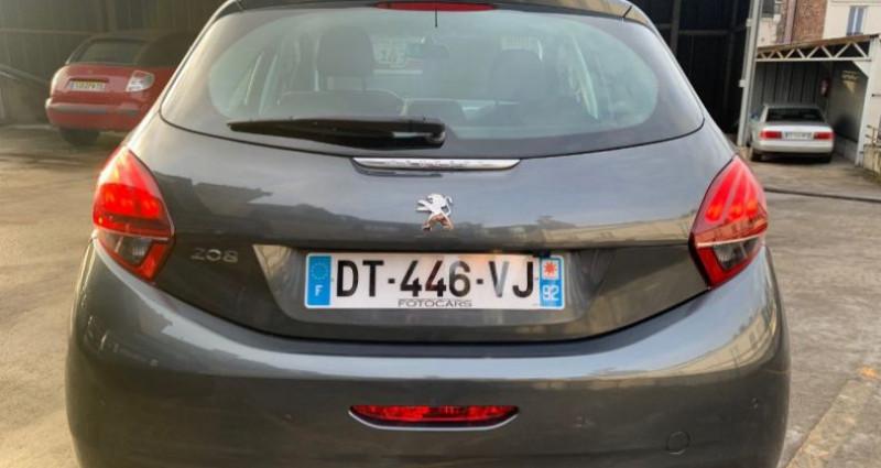 Peugeot 208 1.2 PURETECH 110CH ALLURE S&S EAT6 5P Gris occasion à REZE - photo n°4