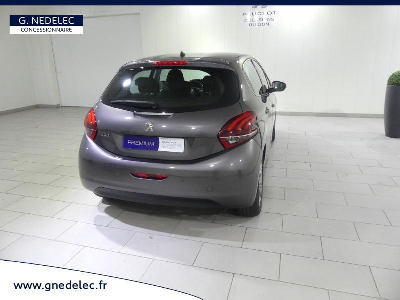 Peugeot 208 1.2 PureTech 110ch E6.c Allure S&S 5p Gris occasion à Quimper - photo n°7