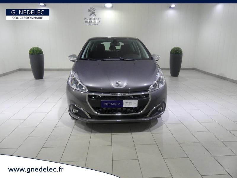 Peugeot 208 1.2 PureTech 110ch E6.c Allure S&S 5p Gris occasion à Quimper - photo n°2
