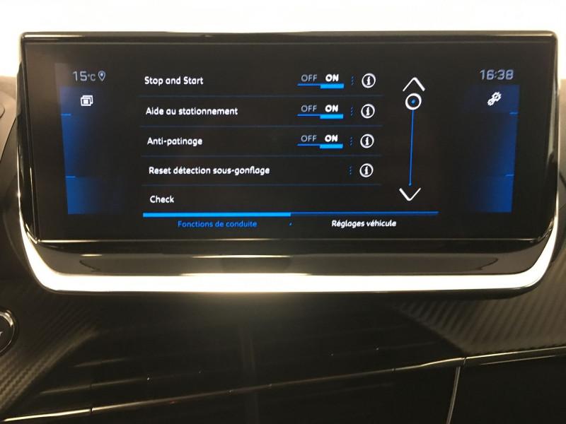 Peugeot 208 1.2 PURETECH 130CH S&S ALLURE EAT8 7CV Gris occasion à FENOUILLET - photo n°10