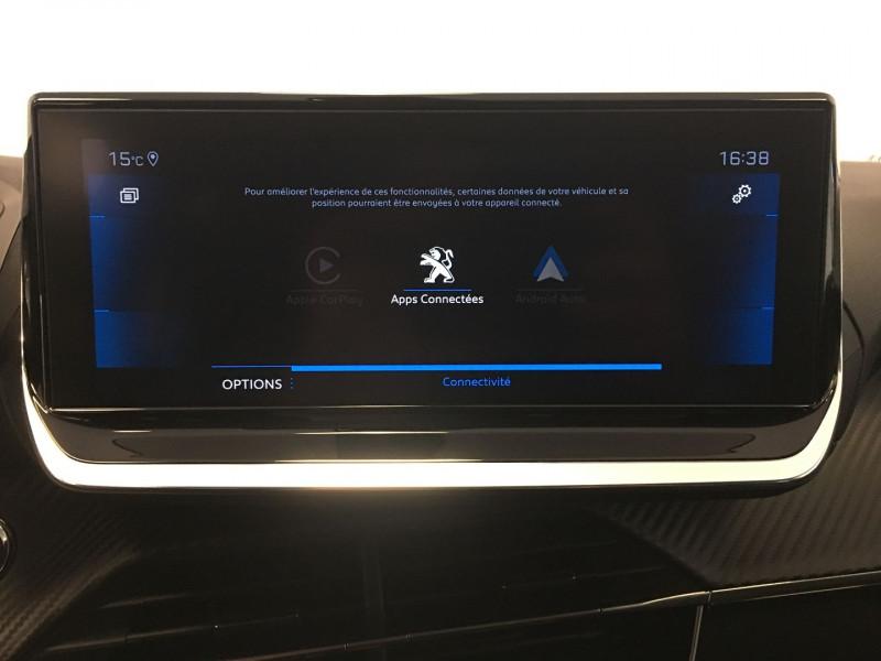 Peugeot 208 1.2 PURETECH 130CH S&S ALLURE EAT8 7CV Gris occasion à FENOUILLET - photo n°12