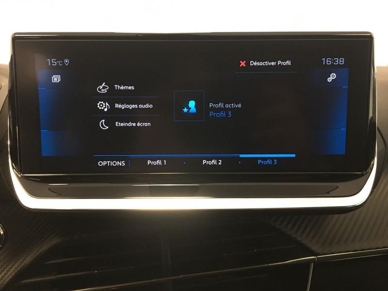 Peugeot 208 1.2 PURETECH 130CH S&S ALLURE EAT8 7CV Gris occasion à FENOUILLET - photo n°13