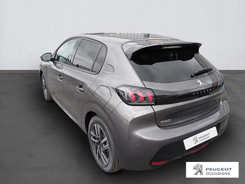 Peugeot 208 1.2 PureTech 130ch S&S Allure Pack EAT8 Gris occasion à Albi - photo n°3