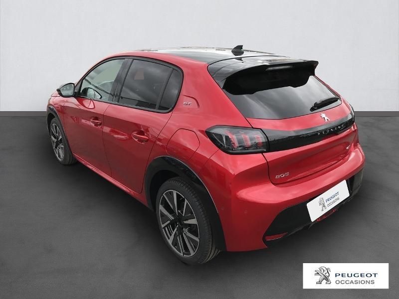 Peugeot 208 1.2 PureTech 130ch S&S GT EAT8 Rouge occasion à Albi - photo n°2