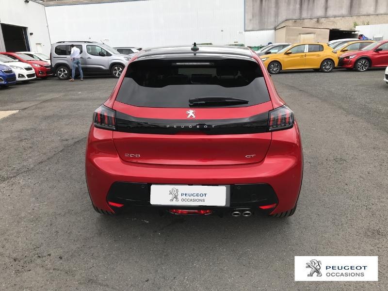 Peugeot 208 1.2 PureTech 130ch S&S GT EAT8 Rouge occasion à Albi - photo n°6