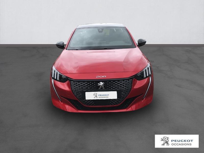 Peugeot 208 1.2 PureTech 130ch S&S GT EAT8 Rouge occasion à Albi - photo n°3