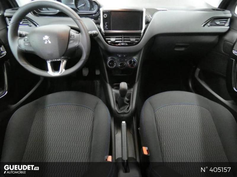 Peugeot 208 1.2 PureTech 82ch E6.c Signature 5p Gris occasion à Montévrain - photo n°8