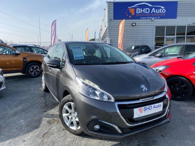 Peugeot 208 occasion 2017 mise en vente à Biganos par le garage BHD AUTO - photo n°1